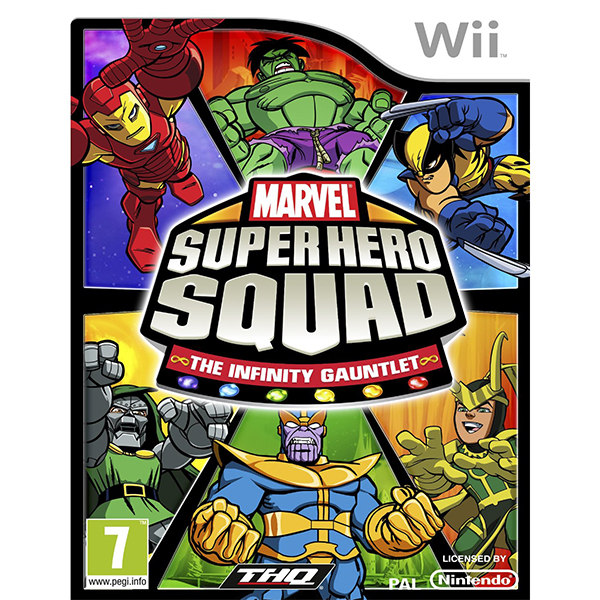 Marvel Super Hero Squad: The Infinity Gauntlet (Nintendo Wii)